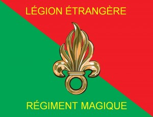 The banner of Shecky's magic using French Foreign Legion.