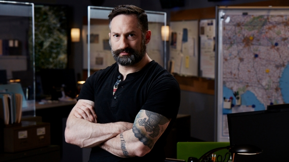 Myke Cole joins the cast of CBS' Hunted