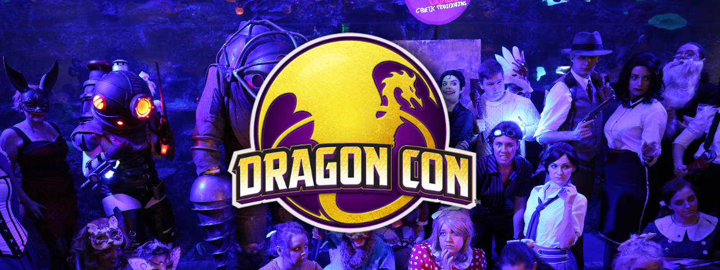 2018 DragonCon Schedule!